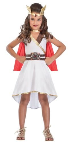 Girls Goddess Princess Greek Roman Fancy Dress Costume World Book Day 5-14yrs
