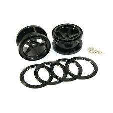 Fastrax Axial 5 Spoke 2.2 Alloy Beadlock Wheels (Wraith) - FTAX20