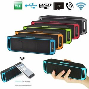 Mini-Altavoz-Bluetooth-Inalambrico-Radio-FM-Reproductor-de-MP3-Estereo-Portatil