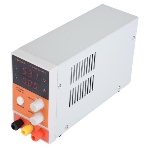 DC Power Supply Netzteil Adjustable DC Netzgerät Trafo Schaltnetzteil 60V 5A