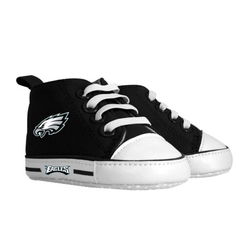 Philadelphia Eagles Pre Walkers Hightop Shoes Sneakers 0-6 Months Baby Fanatic