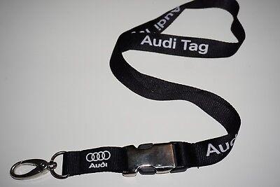 Audi TAG Schlüsselband Lanyard NEU!!