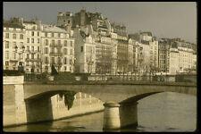 205034 Ile De Cite Surrounded By Seine River A4 Photo Print