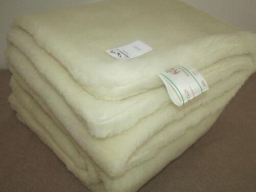 Duvet Merino Velour Gewendet Wool Blanket Bedspread Bedding 100% Merino Wool