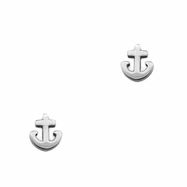 Outlander Inspired Ancre Marine Acier Inoxydable Boucles D'Oreilles