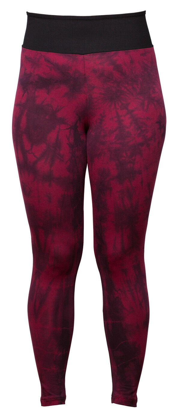 Yoga-batik-leggings Rot Long - Batik Bordeaux Rot Yoga-batik-leggings von Flying Love Birds 28aeb5