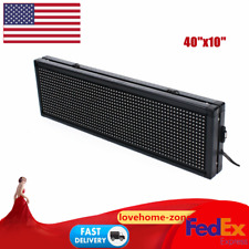 40 X 10inch Full Color P10 Led Sign Programmable Scrolling Message Display Signs