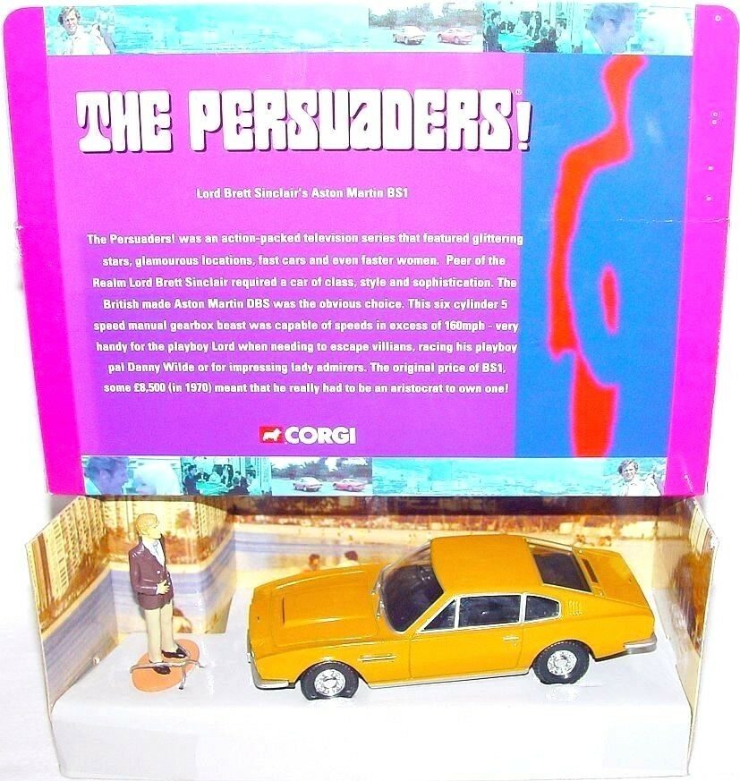 Corgi Toys 1 36 THE PERSUADERS ASTON MARTIN DBS TV Movie Model Car CC07002 MIB