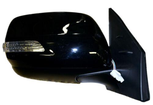 Puerta//Ala Espejo Negro Eléctrico Rh Para Toyota Landcruiser VDJ200 V8 4.5TD 8//12 />