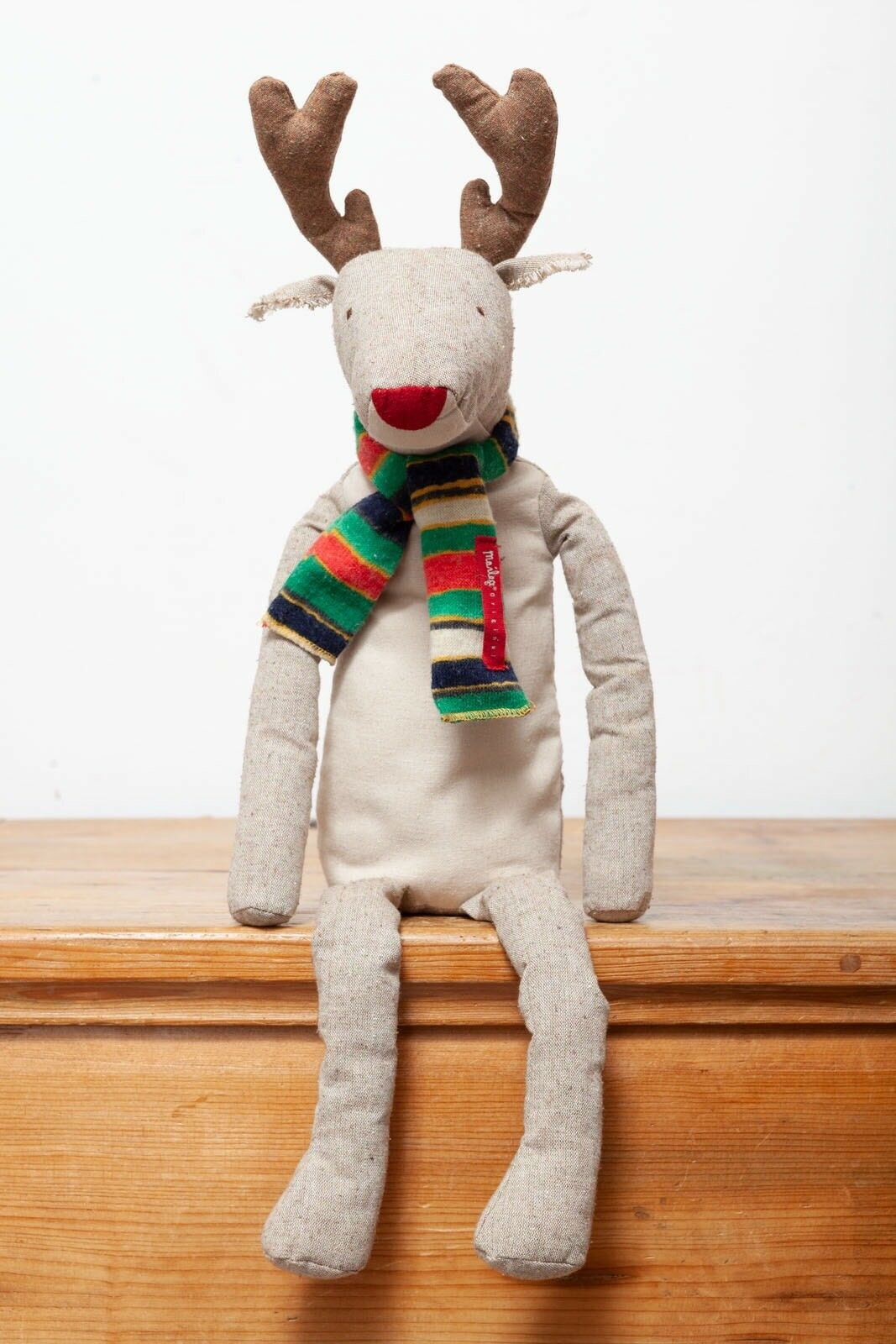 Maileg Large Rudolph ROT Nosed Reindeer