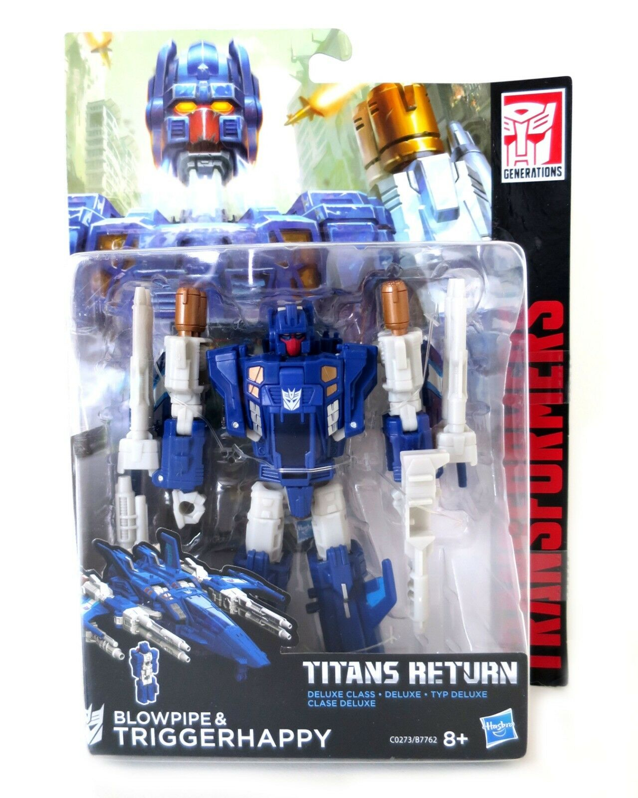 Transformers Hasbro Titan Returns Deluxe Triggerhappy and and and Blowpipe b9cab3