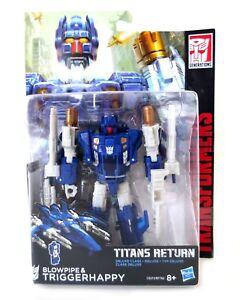 Brillant Transformers Hasbro Titan Retours Deluxe Triggerhappy Et Chalumeau-afficher Le Titre D'origine Frissons Et Douleurs