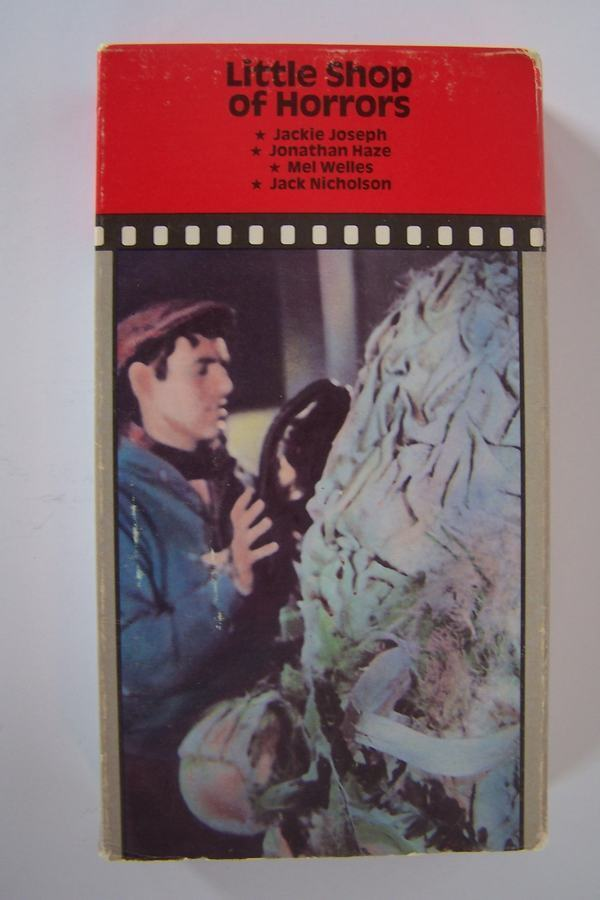 Little Shop Of Horrors - featuring Jack Nicholson VHS V