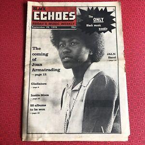 Black Echoes  25 September 1976 Joan Armatrading, J.A.L.N. Chain Reaction