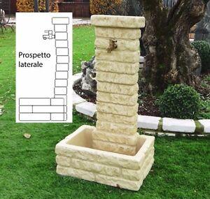 Bonfante Fontana Fontanella Da Giardino Pietra Ricostruita Memphis