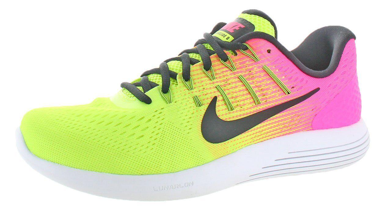 Nike Uomo lunarglide 8 nero / bianco - antracite multi - colore / multi-color