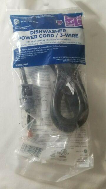 Ge Appliances Dishwasher Power Cord   3