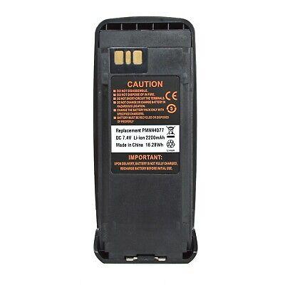 Li-ion Battery Fit Motorola XPR6350 XPR6500 XPR6550 XPR6580 radio PMNN4077