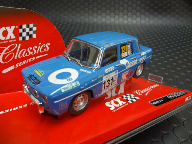 SCX Scalextric Renault 8 TS Slot Car 1 32 63770