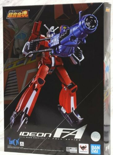 GX-90 Full Action Robot Space Runaway Ideon F.A.Soul of Chogokin Bandai Tamashii
