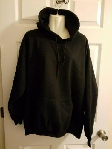Gildan Womens XL Black Hoodie Sweatshirt Unique … - image 1