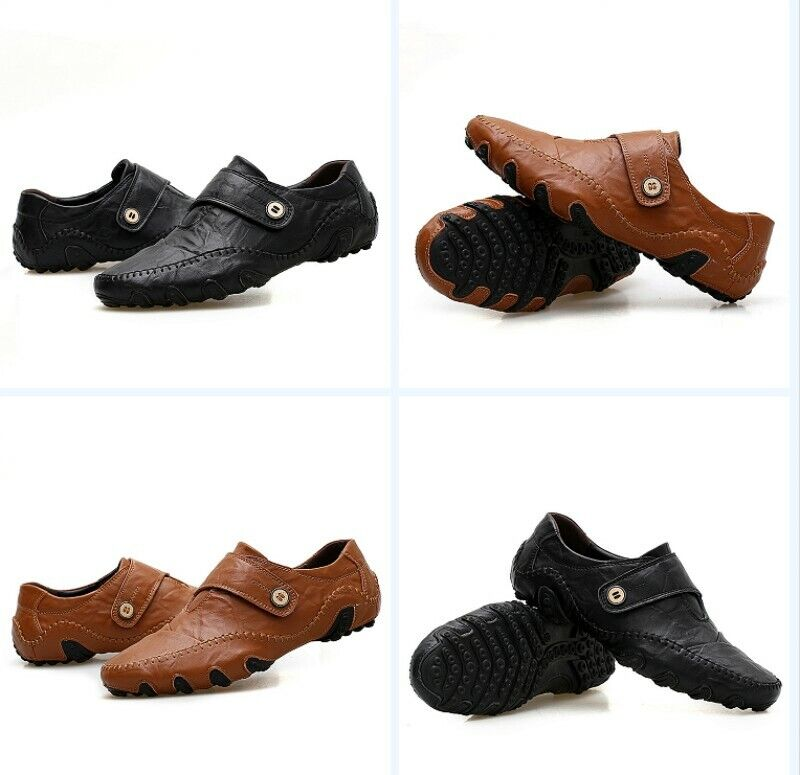 Men's Formal Round Toe Flats Solid Slip On Business shoes Fashion Outdoors New