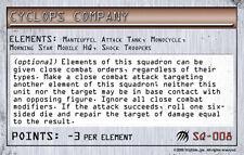 MechWarrior SQ-003 Firing Squad Wolf Strike