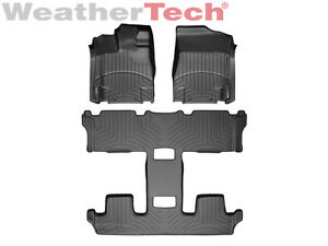 Weathertech Floor Mats Floorliner For Nissan Quest 2011 2017 Black Ebay