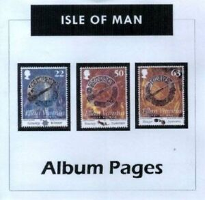 Isle-of-Man-CD-Rom-Stamp-Album-1958-2016-Color-Illustrated-Album-Pages