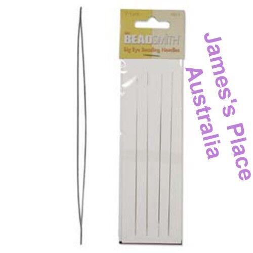 various sizes Perfect for bead threading Big Eye Beading Needles