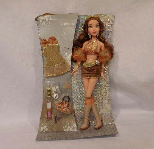 My Scene Bling Bling Chelsea Barbie Doll Extra Clothes & Accessories New Rare