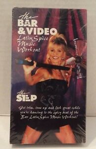 The-Bar-amp-Video-Latin-Spice-Music-Workout-VHS-Kim-Parmater-Brand-New-Sealed