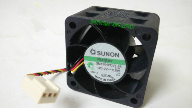 Replacement Computer Fan Sunon MagLev KDE1206PTV1 3Pin
