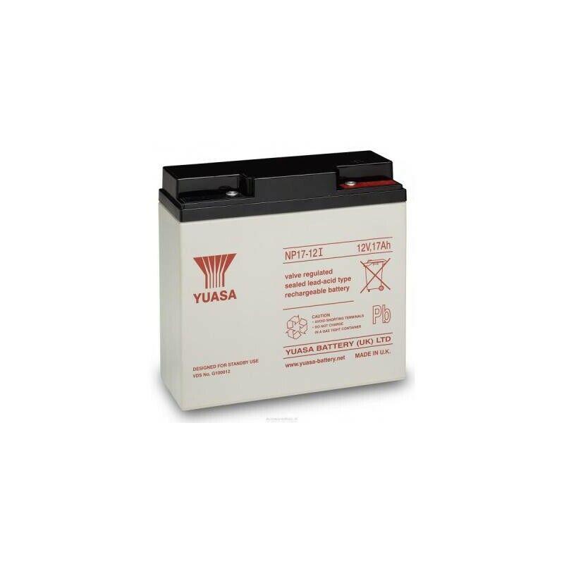 UK BS456 Yuasa NP17-12 Rechargeable Lead Acid Battery 12v / 17 Ah