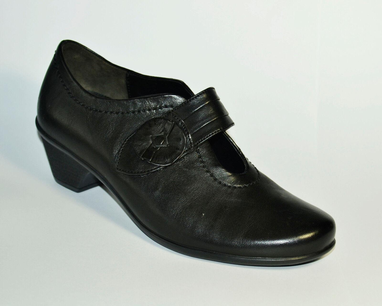 zapatos  señora zapatos  gabor spangenschuh cuero negro negro negro Gr. 37,5 (PE 1925/s) 35d4ff
