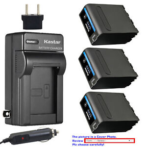 Kastar-Battery-AC-Charger-for-Sony-NP-F990PRO-MVC-FD73-MVC-FD75-MVC-FD81