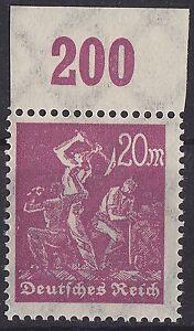 DEUTSCHES REICH MiNr. 241 P OR postfrisch - Deutschland, Deutschland - DEUTSCHES REICH MiNr. 241 P OR postfrisch - Deutschland, Deutschland