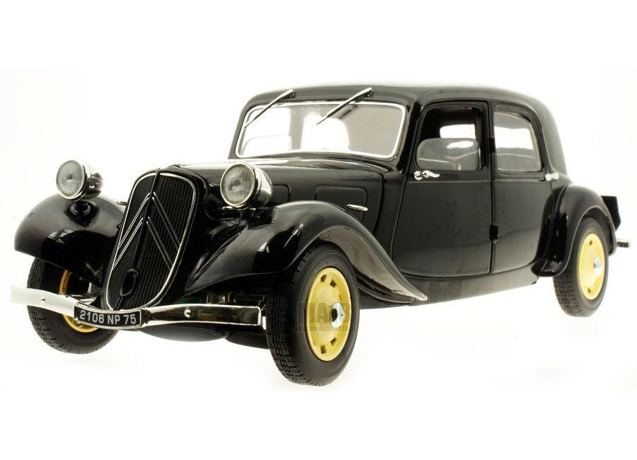 1:18 solido Citroën Traction 11 B Berlino - 1938 Nero