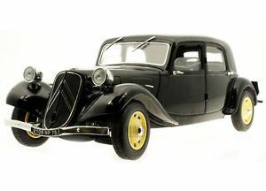 1:18 Solido Citroen Traction 11 B Berlin - 1938 Noir