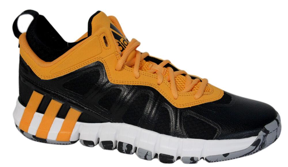 Adidas crazyquick 2.5 Bajo Zapatillas Baloncesto Negro de hombre amarillo c77796