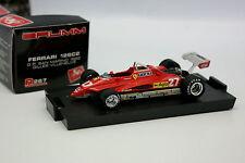 Brumm 1/43 - Ferrari F1 126 C2 San Marino GP 1982 Villeneuve