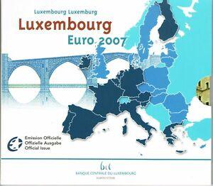 LUXEMBURG - BU SET 2007 - GOTISCHE ARCHITECTUUR - 10 MUNTEN