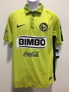 8a240c10e5c Image is loading club-america-jersey-green-nike-authentic-fast-shipping-