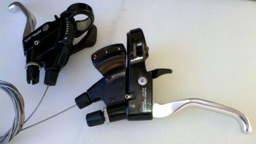 NEU Shimano Deore LX ST-M567 STI Schalt-//Bremshebel 3//8-fach NOS