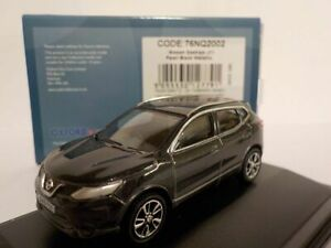 Nissan-Qashqai-J11-Pearl-Black-1-76-Oxford-76NQ2002-Model-Car