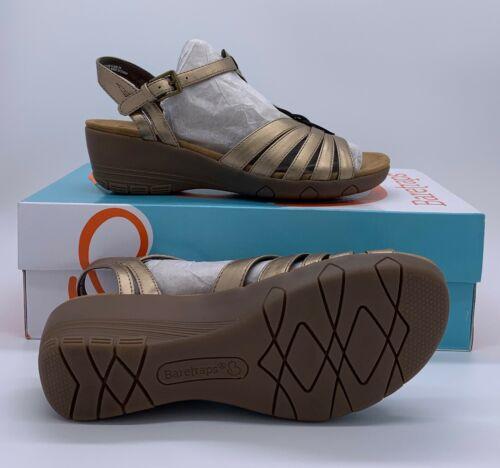 Baretraps women/'s Honora Bronze Sandals