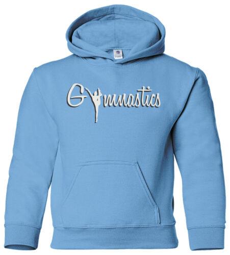 Gymnastics Youth Hoodie Sweatshirt Gymnast Tumbling Pride Sports Team Gift