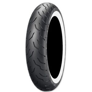 Dunlop American Elite Front 130 90 16 Whitewall Motorcycle Tire 45131520 Ebay