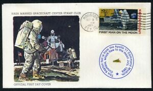 Apollo-11-Official-First-Day-Cover-With-Gold-Kapton-Foil-FLOWN-To-The-Moon