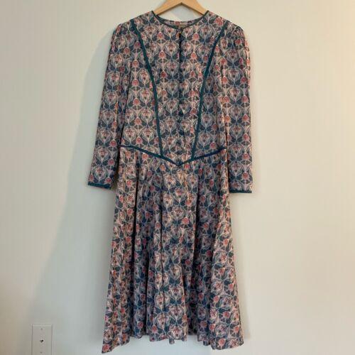 Vintage Origin Liberty Print Dress Morris Print